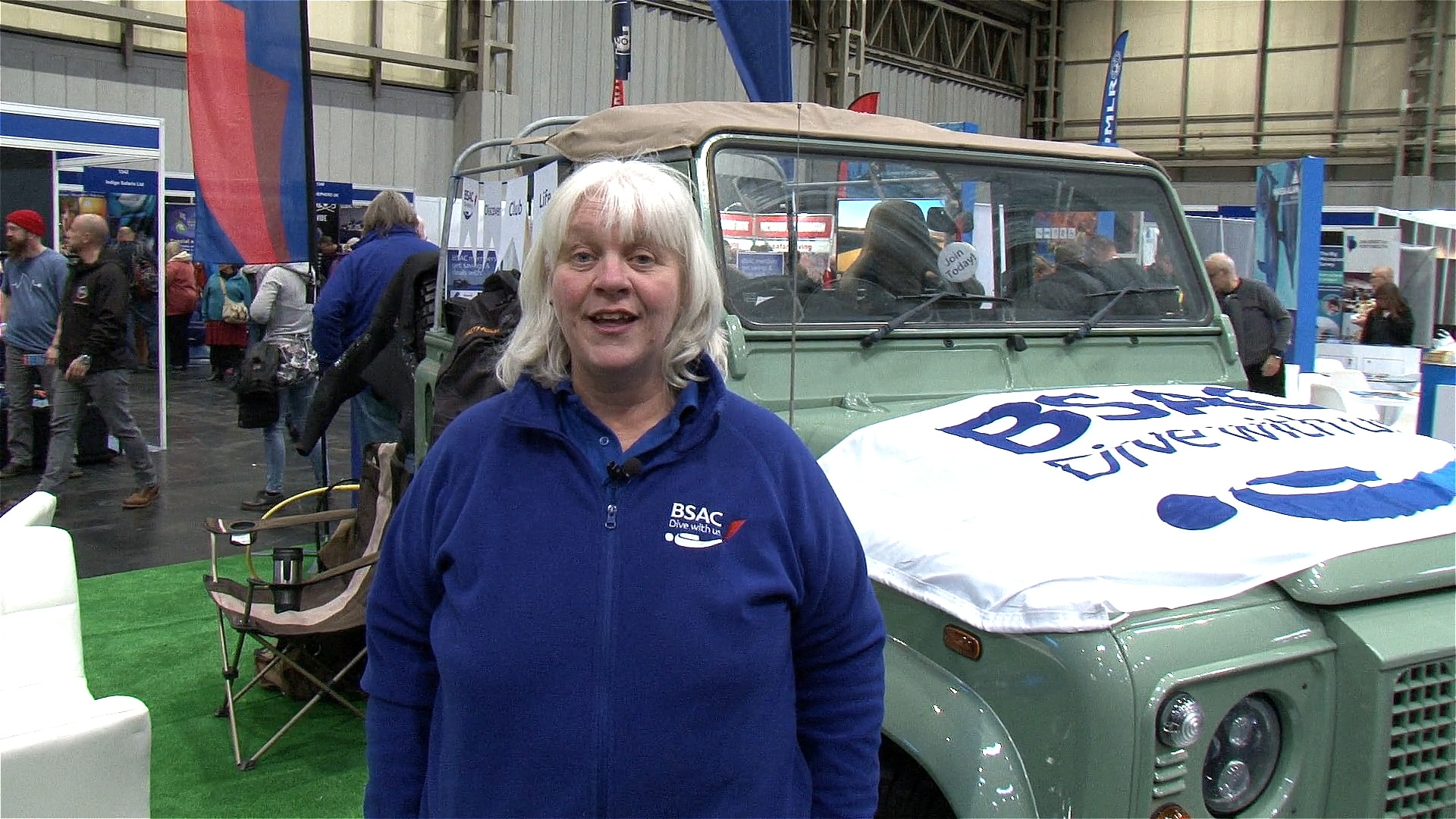 DIVE 2018 Review: BSAC CEO Mary Tetley gives a message to encourage divers to join BSAC (Watch Video)